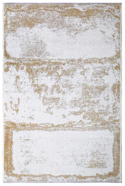 MORETTİ DUO ÇİFT TARAFLI HALI 11707-F SARI-BEYAZ