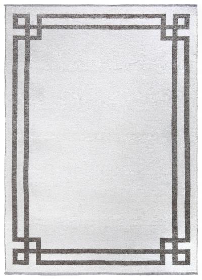 MORETTİ DUO ÇİFT TARAFLI HALI 11730-A GRİ-BEYAZ