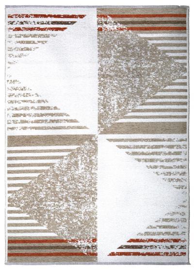 MORETTİ DUO ÇİFT TARAFLI HALI 11731-B BEJ-TURUNCU