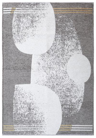 MORETTİ DUO ÇİFT TARAFLI HALI 11733-F SARI-GRİ